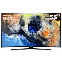 Tv 55p samsung led curva 4k smart wifi usb hdmi - un55mu6300gxzd