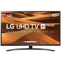 TV 65 Polegadas LG LED Smart Wifi 4k Usb HDMI Comando Voz 65um7470psa.awz -
