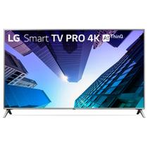 TV 75 Smart LG Pro 4K AI UHD Modo Corporate Hotel 4HDMI 2USB Preto 75UK651C