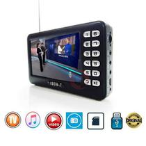 Tv Digital Mini 4.3 Radio Fm Pendrive Card Hd Video Portatil - Pdv