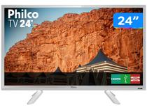 "TV HD D-LED 24"" Philco PTV24C10DB - 2 HDMI 1 USB"