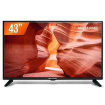 """TV LCD 43"""" Full HD Multilaser TL018 Conversor Digital 2 HDMI 1 USB -"""