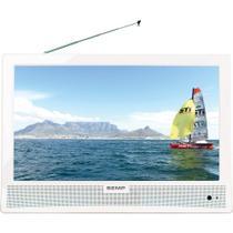 TV LED 14 Polegadas Semp Toshiba Slim HD Digital à Bateria - LE1477I74W -