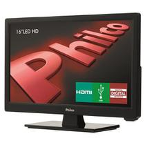 "TV LED 16"" HD Philco PH16D10D com Conversor Digital Integrado, Progressive Scan, Entrada HDMI e Entr -"