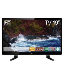 "TV LED 19,5"" HQ HD Conversor Digital HQTV19 HDMI USB -"