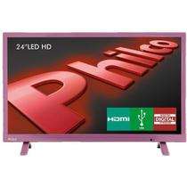 "TV LED 24"" HD Philco PH24E30DR com Conversor Digital Integrado, Entradas HDMI e Entrada USB -"