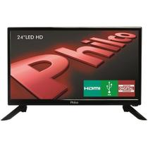 "Tv Led 24"" Hd Philco Ph24n91d Com Conversor Digital Integrado, Som Surround, Dnr, Entrada Hdmi E Usb -"