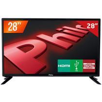 "TV LED 28"" HD Philco PH28D27D 2 HDMI 1 USB Conversor Digital -"