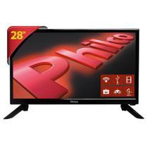 "TV Led 28"" PH28N91DSGWA Android, HD, Receptor DTV, MIDIACAST, 2 HDMI  - Philco -"