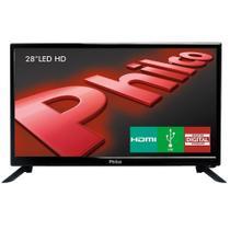 "TV LED 28"" Philco PH28N91D, HD, HDMI, USB -"