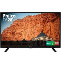 "TV LED 28"" Philco PTV28G50D HD com 1 USB, 2 HDMI, Guide, Sleep Timer, Close Caption e 60hz -"