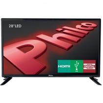TV LED 28 Polegadas Philco PH28D27D Conversor TV Digital Integrado -