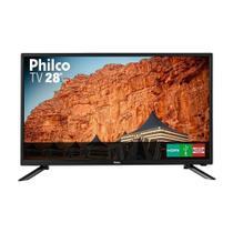TV LED 28 Polegadas Philco PH28N91D HD com Conversor Digital 1 USB 1 HDMI -