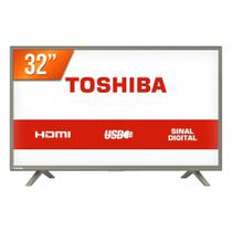 TV LED 32 HD Toshiba 32L1800 3 HDMI USB Conversor Digital Integrado