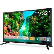 "Tv Led 32"" Hqtv32 Hd Conversor Digital 3 Hdmi 2 Usb - Hq -"