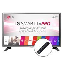 Tv led 32 lg 32lj601c smart tv conver digital 2 hdmi 1 usb -