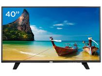 "TV LED 40"" AOC Full HD LE40F1465  - Conversor Digital 2 HDMI 1 USB DTV"