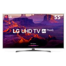 """TV LED 55"""" LG UK6540, UHD 4K, Smart TV, WebOS, HDR10 e HLG, LG ThinQ AI, Wide Color, 4 HDMI, 2 USB -"""