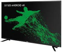 "TV Led Android 4K 55"" PH55A17DSGWA Philco -"