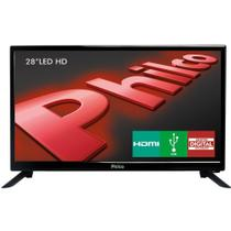 TV Led HD 28 Polegadas Philco USB HDMI PH28N91D -
