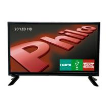 "TV LED HD Philco 19.5"" PH20M91D, HDMI, USB, Conversor Digital"