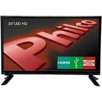 "TV LED HD Philco 20"" PH20M91D, HDMI, USB, Conversor Digital -"