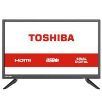TV LED HD Toshiba 24, 2 HDMI, 2 USB - 24L1850