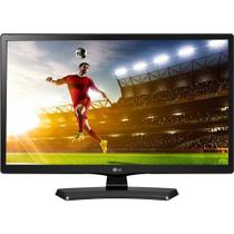 TV LED LG HD 19,5 pol 20MT49DF-PS Conversor Digital 1 HDMI 1 USB 60Hz Time Machine Ready Preta