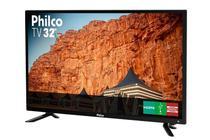 Tv Led Philco PTV32C30D 32 Polegadas HD Conversor Digital 2 HDMI 1 USB 60Hz -
