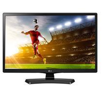 TV Monitor LED 24 Polegadas HD HDMI USB 24MT49DF-PS.AWZ LG - Preto -
