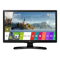 TV Monitor LG 24 Polegadas Smart Wifi Led HD HDMI USB 24MT49S-PS
