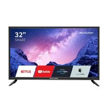 TV Multilaser 32 HD Smart Led Wi-Fi USB HDMI c/Conversor Digital TL020 -