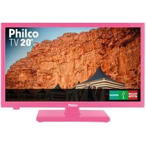 "TV Philco 20"" HD PH20U21DR Rosa LED -"