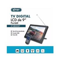 Tv portatil digital 9 polegadas com hdmi e conversor integrado monitor com controle remoto usb led r - Knup