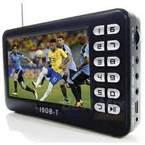 Tv Portatil Digital Tela 4.3 Polegadas Com Entrada Usb Rádio Fm Sd Video - Exbom