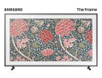 """TV QLED Samsung 55"""" 55LS03R THE FRAME, UHD 4K Smart, Tela de Pontos Quânticos, Art Store, Única Conexão+Suporte No-Gap. -"""