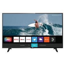 TV Smart AOC Roku LED 43 Polegadas 43S5295/78 com Wi-fi, FullHD, Controle Remoto com atalhos, Roku Mobile, Miracast, Entradas HDMI e USB -