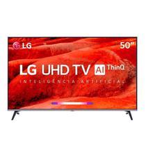 """TV Smart LG 50"""" ThinQ AI HDMI USB Wi-Fi Bluetooh UHD 4K 3840 x 2160 50UM751C -"""