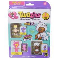 Twozies Blister Kit com 6 Personagens - Gidget - Série 2 - DTC -