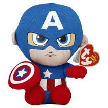 TY Beanie Babies - Capitão América - Dtc