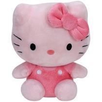Ty Beanie Babies - Pelúcia Hello Kitty Rosa 20 cm - Original -