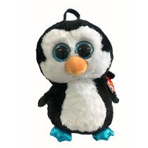Ty Mochila Pinguim Waddles - DTC -