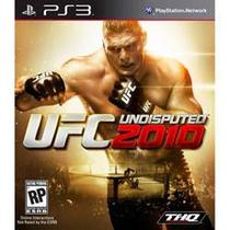 Ufc undisputed 2010 - ps3 - Sony