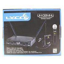 UH02 MHLI Microfone Sem Fio Mão Headset Lapela - Lyco