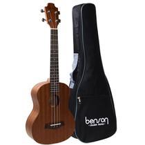 Ukulele Benson Concert UB24b em Sapele Acústico com Capa -