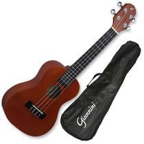 Ukulele concert acustico giannini com bag uks-23 ns -