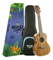 Ukulele Concert Acustico Mahogany Moani Com Capa -