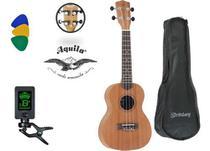 Ukulele Concert Strinberg Uk06c Kit **  C/ Afinador E Capa - Strimberg