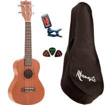 Ukulele Namastê NU23MLQ Concert Acústico + Capa + Afinador - Embalart