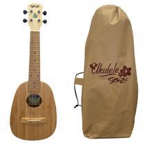Ukulele Seizi Bali Pineaple Concert Acustico Solid Bamboo -